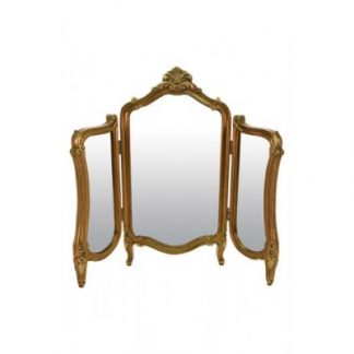 monroe gold triple mirror