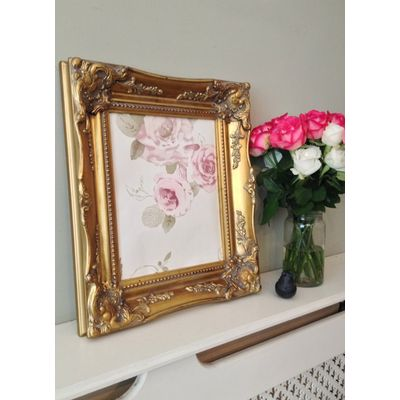 classic gold picture frame 10x12