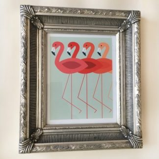 marseille silver picture frame 8x10