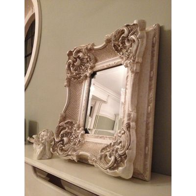 california ivory mirror 8x10