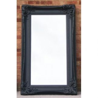 monte carlo ornate black mirror 24x60