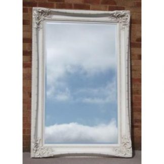 monte carlo ivory mirror 36x60