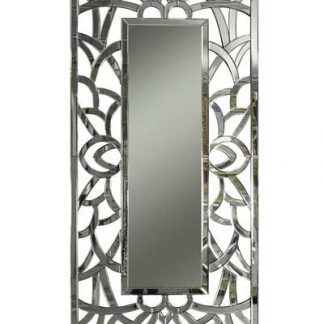 Silver and Frameless Contemporary Mirrors