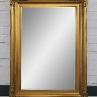 traditional gold mirror 20x30