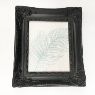 aston black picture frame 8x10