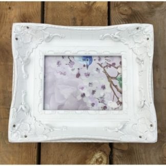 aston white picture frame 5x7