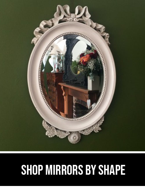 shop mirrors by shape
